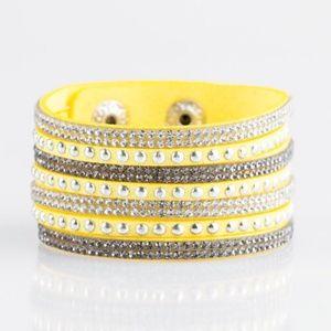 Victory Shine - Yellow Bracelet